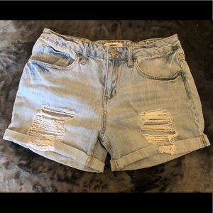 Forever 21 Shorts - Distressed Denim Shorts